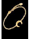 pulsera luna invertida en plata Lotus Silver LP1795-2/2 en dorado