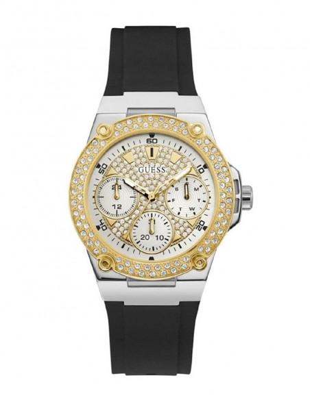 Reloj Guess Zena W1291L1 de mujer en acero bicolor plateado dorado