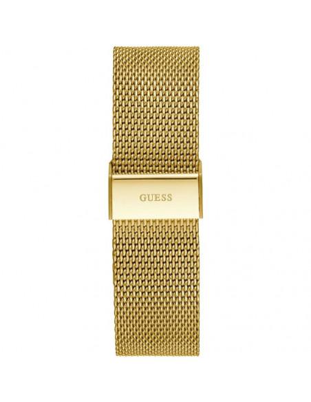 Reloj Guess Porter W1310G2 de hombre en acero dorado y dial champagne vista cierre