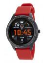 Reloj Marea Smart B60001/2 de hombre en negro con correa roja resistente al agua IP67