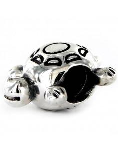 abalorio tortuga en plata de primera ley 925