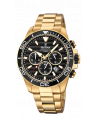 Reloj de hombre Festina Prestige F20364/3 dorado y dial negro