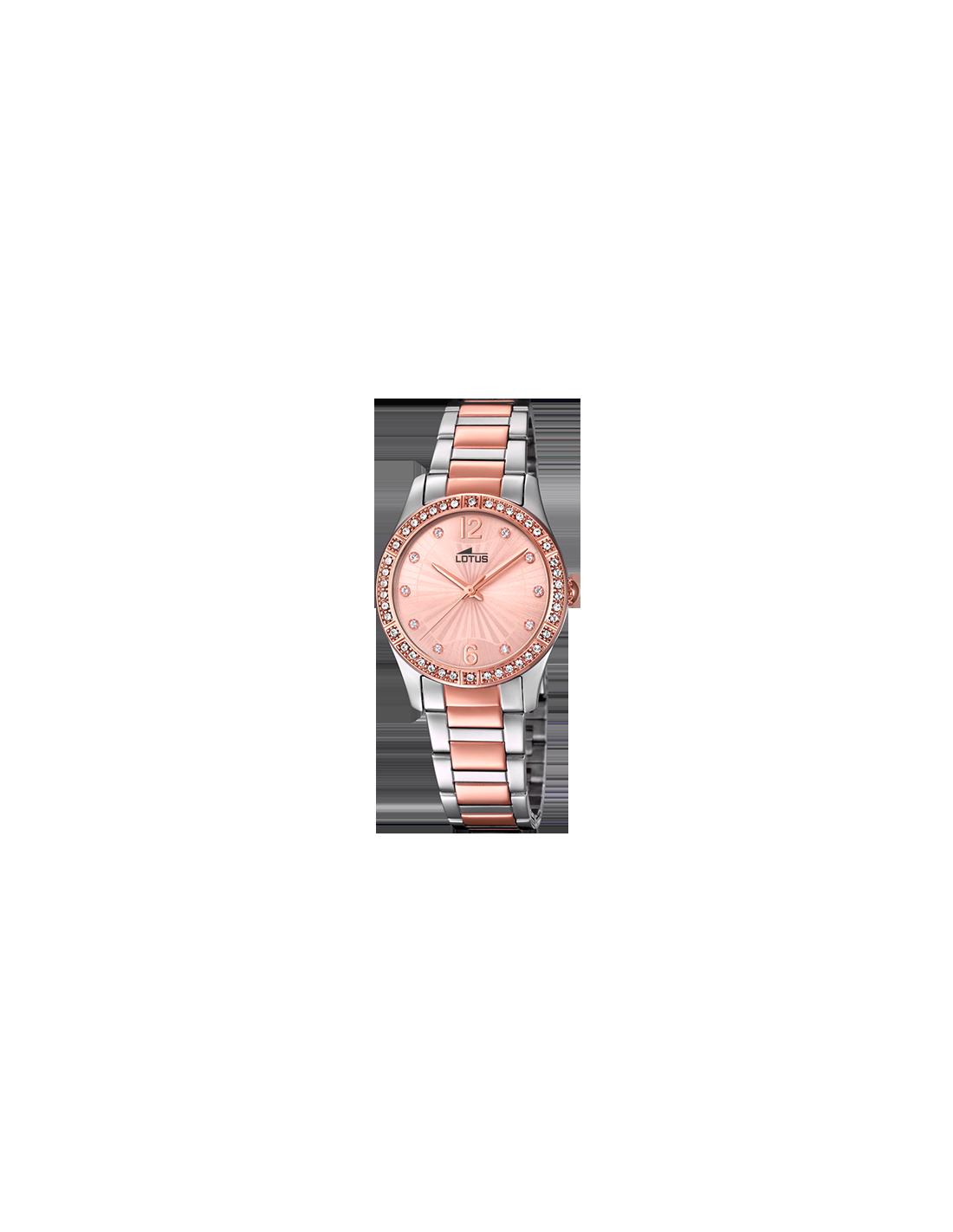 41ca696e0615 Reloj Lotus Bliss 18384 2 de mujer rosado con circonitas - Ses nines