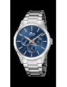 Reloj de hombre Lotus Minimalist multifunción 18575/5 con dial azul