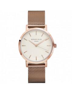 Reloj ROSEFIELD The Mercer oro rosa y blanco MWR-M42