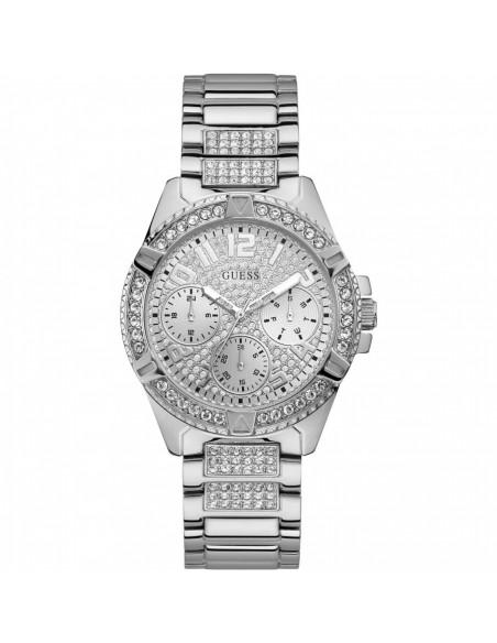 Reloj de mujer Guess Frontier, en acero plateado W1156L1