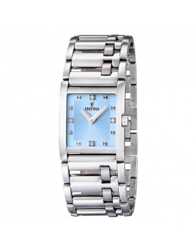 6b92803f63b4 Reloj de mujer cuadrado Festina F16550 5 con dial azul - Ses Nines