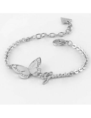 b2224e5bd607 Pulsera Guess Love butterfly mariposa plateada UBB78049-S - Ses Nines