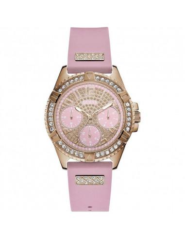 7fd711882193 Reloj de mujer Guess Frontier en color oro rosa