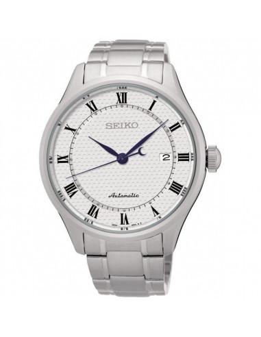 f46e2c1fd Reloj de hombre Seiko SRP767K1 Neo Classic, mecanismo automático con dial  blanco, cristal Hardlex
